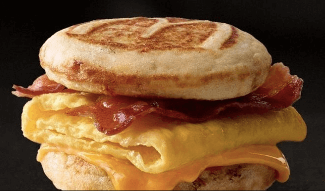 bacon egg cheese mcgriddles